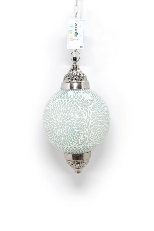Oosterse hanglamp wit Mumbai
