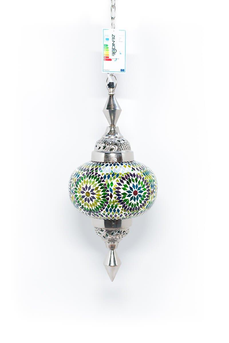 Oosterse lamp Gaya mullticolour bohemian uit