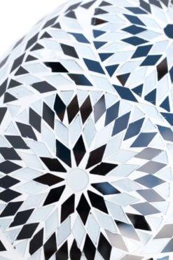 Sfeerverlichting Online - Zwart-wit-paars-bohemian