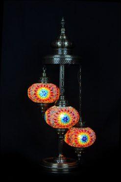 Vloerlamp mozaiek multicolour - Sfeerverlichting Online