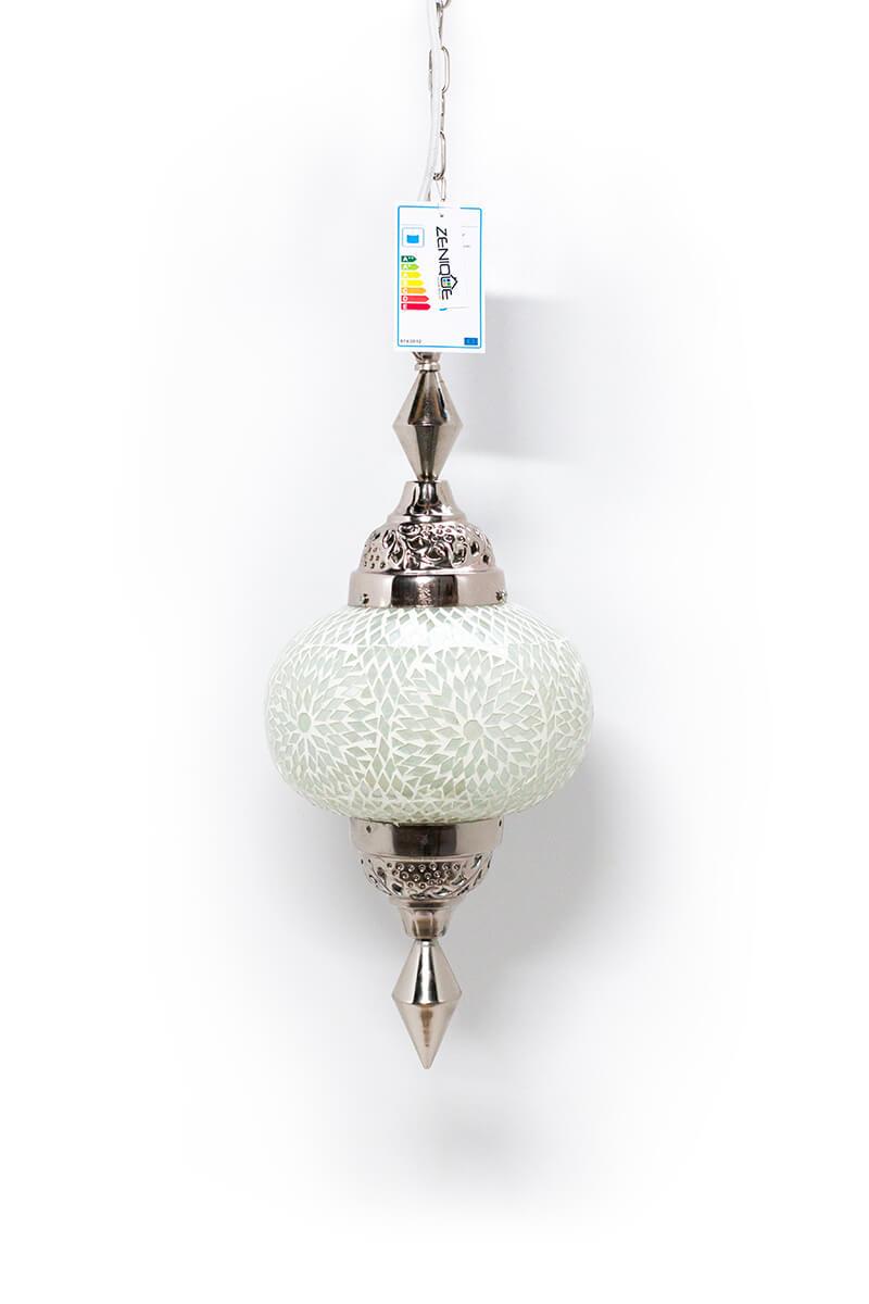 Oosterse lamp wit Gaya bohemian uit