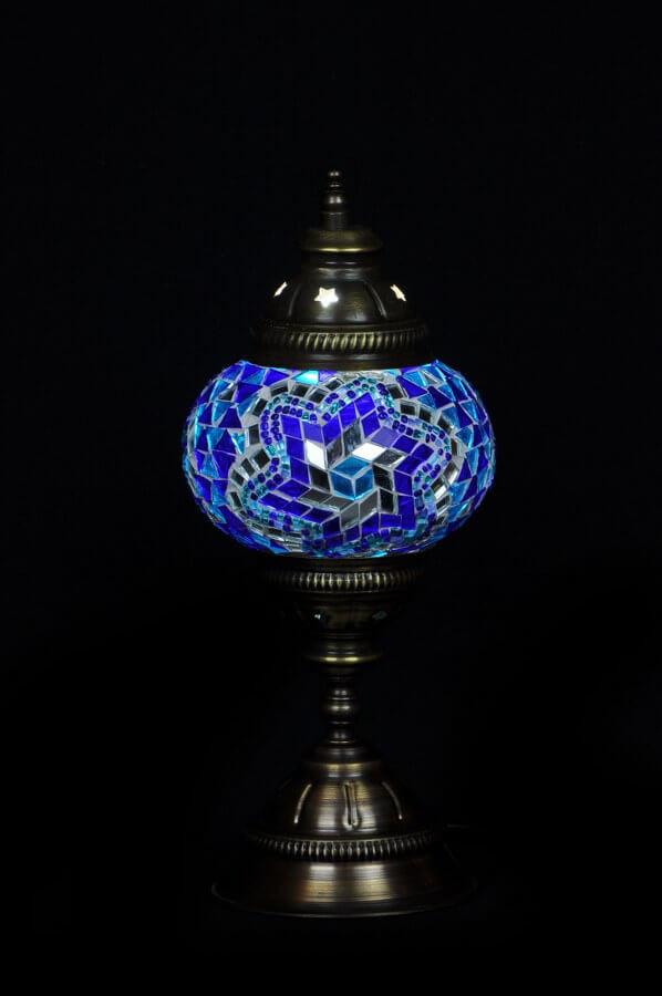 Turkse tafellamp blauw gemakkelijk, veilig en snel online bestellen