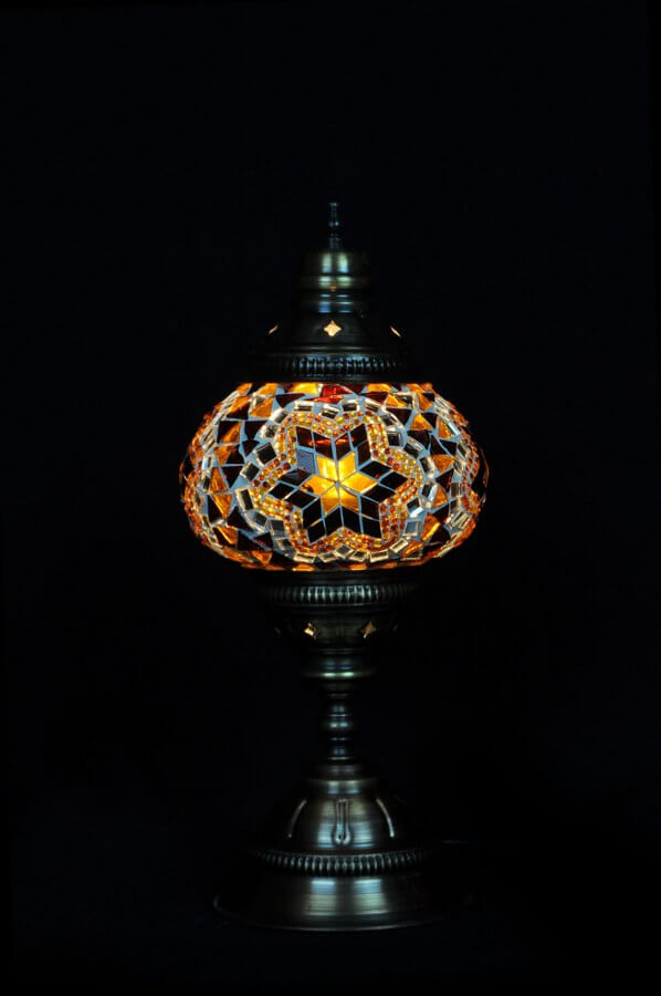 Turkse tafellamp bruin gemakkelijk, veilig en snel online bestellen