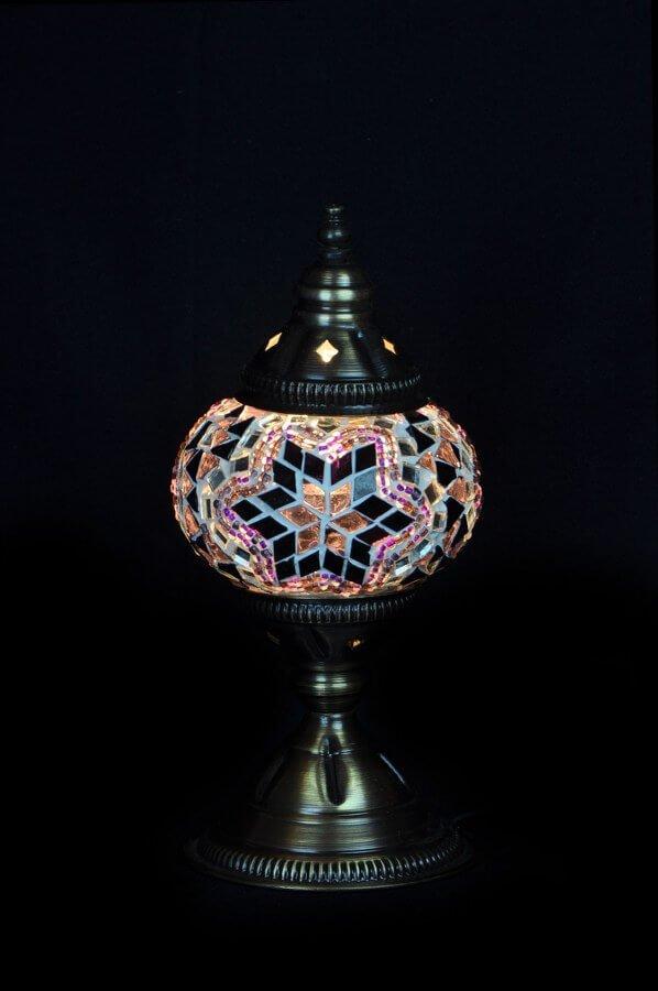 Turkse tafellamp paars gemakkelijk, veilig en snel online bestellen