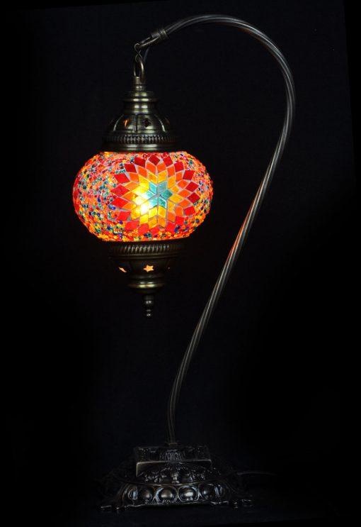 Turkse tafellamp multicolour - Sfeerverlichting Online