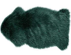 Sfeerverlichting Online - schapenvacht groen imitatie
