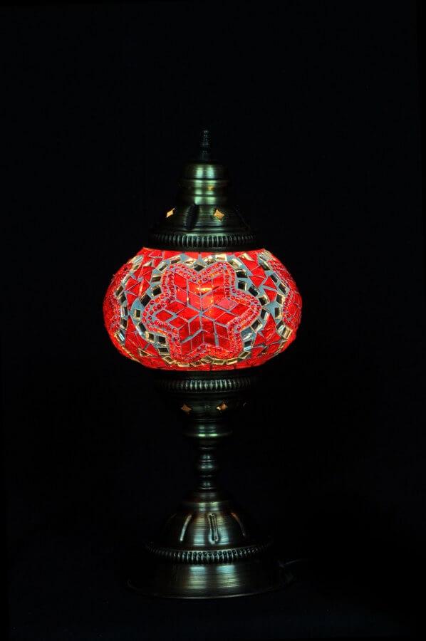 Turkse tafellamp mozaiek rood gemakkelijk, veilig en snel online bestellen