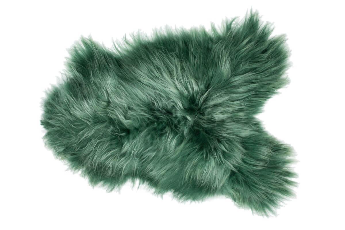 IJslandse schapenvacht groen