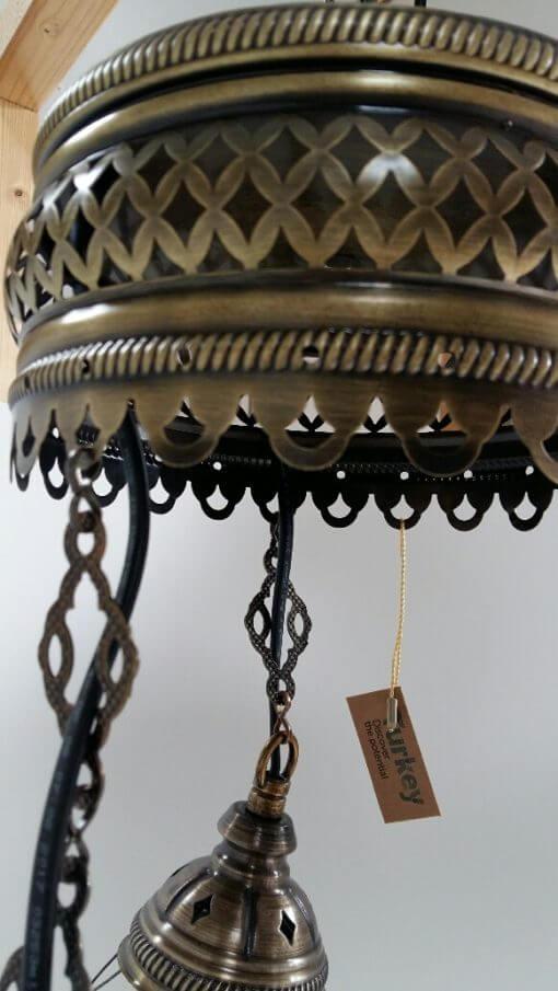 Sfeerverlichting Online - Oosterse lamp detail