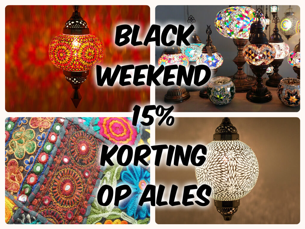 Black weekend Sfeerverlichting Online