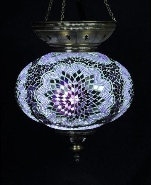 Hanglamp paars