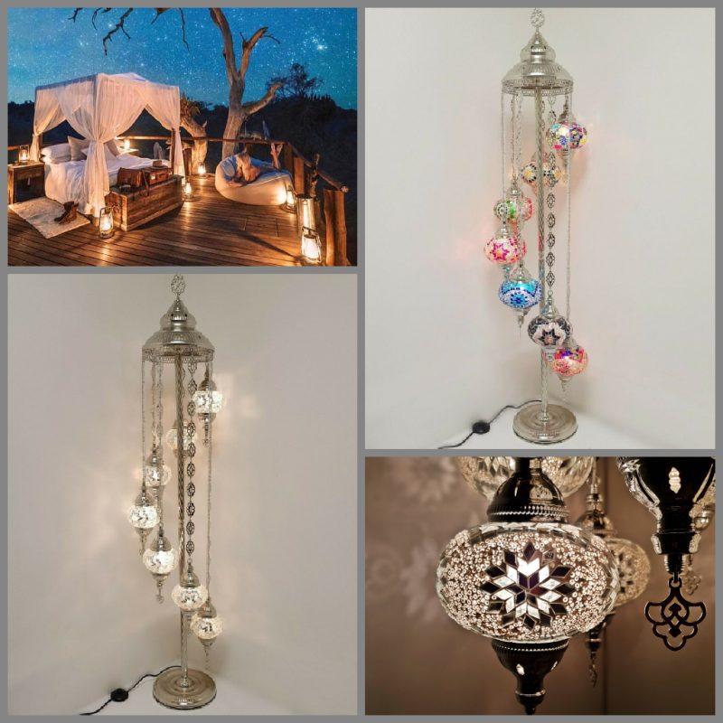 Turkse lamp zilver - Sfeerverlichting Online
